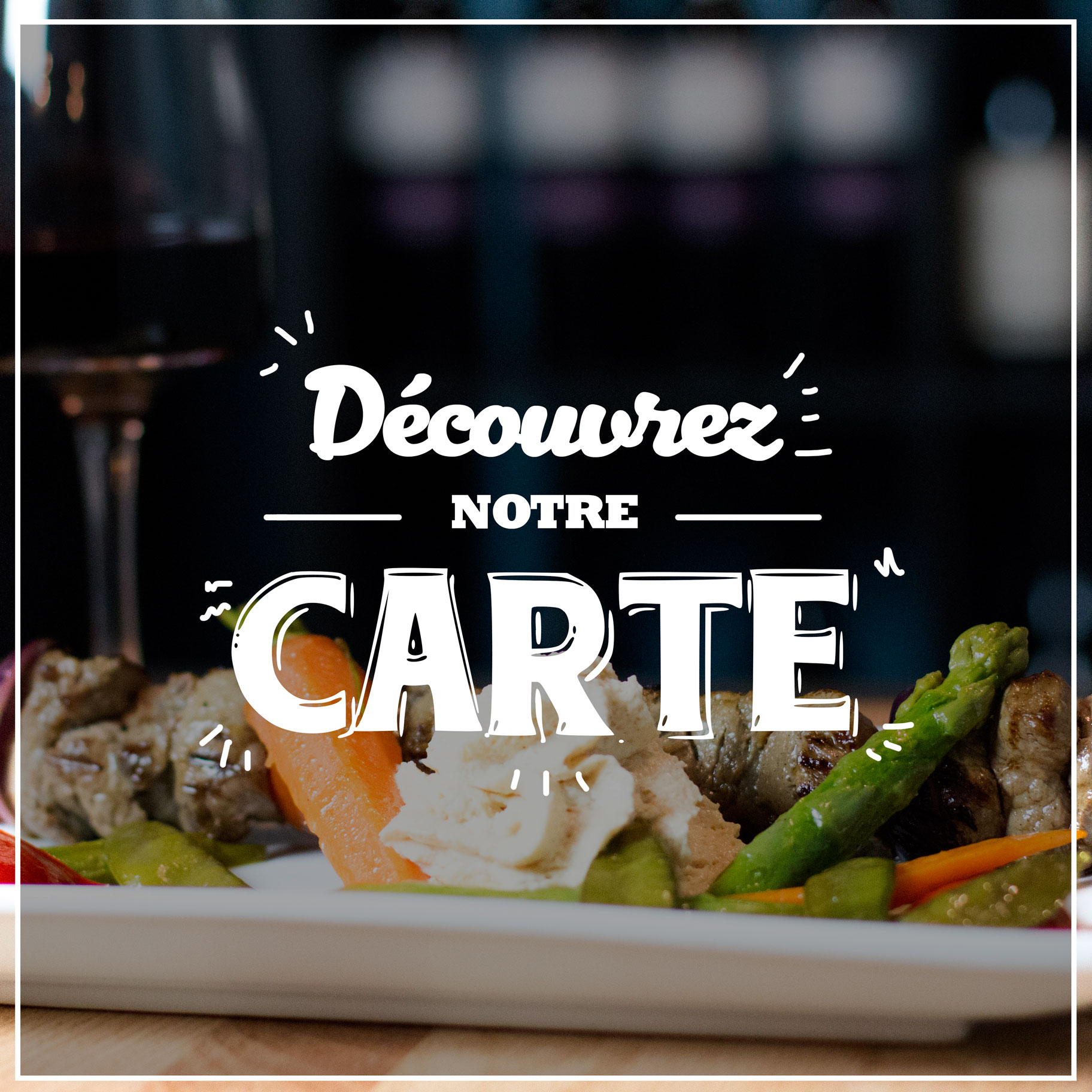 photo menu carte bouton notre carte